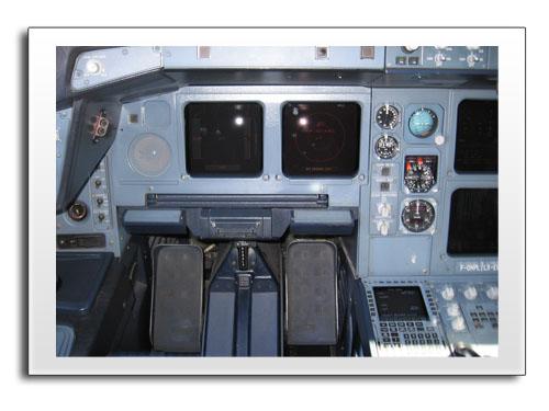 Im Cockpit einer Boeing 737