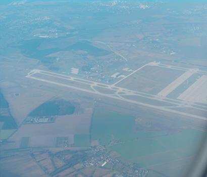 Flughafen Berlin aus der Luft